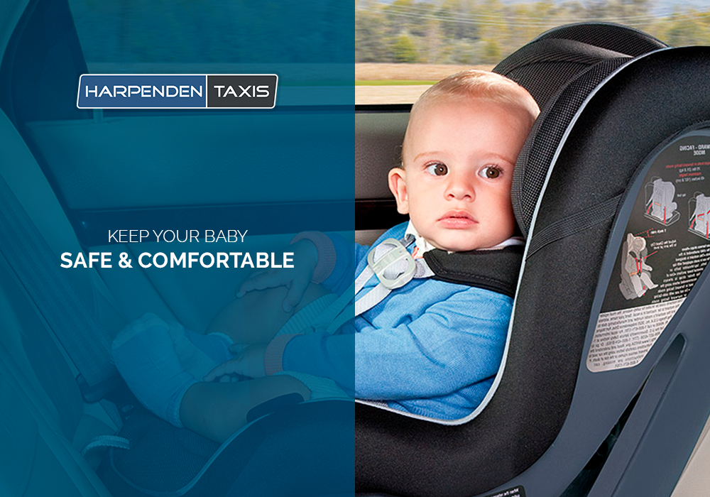 Harpenden Taxis Baby Seat
