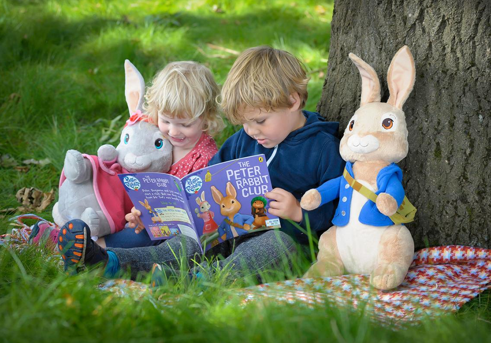 Spend time with Peter Rabbit